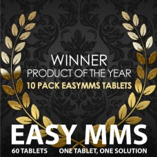 THE 10 PACK EASYMMS with 60 tablets.